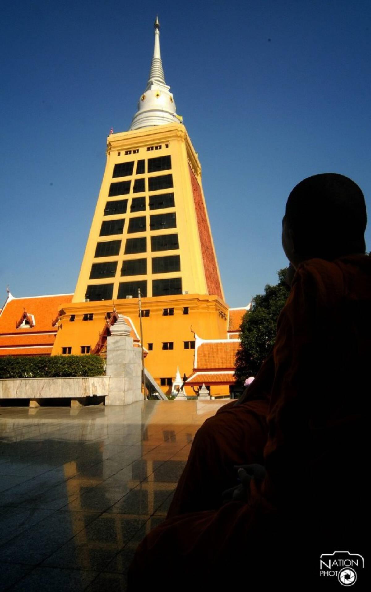 พาชม พระวิริยะมงคลมหาเจดีย์ เจดีย์ที่สูงสุดในประเทศไทย