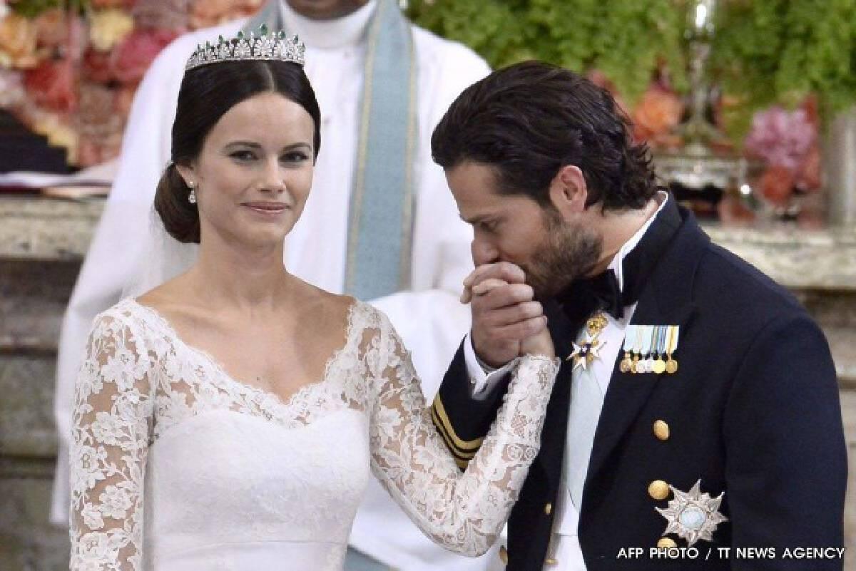 เจ้าชายคาร์ล ฟิลิป แห่งสวีเดน เสกสมรส นางแบบสาว