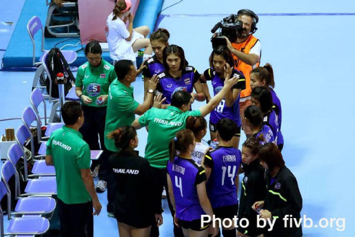 เต็มที่แล้ว! ตบสาวไทย พ่ายโดมินิกัน ลุ้นชิงที่ 5-8 ยู-23 ชิงแชมป์โลก