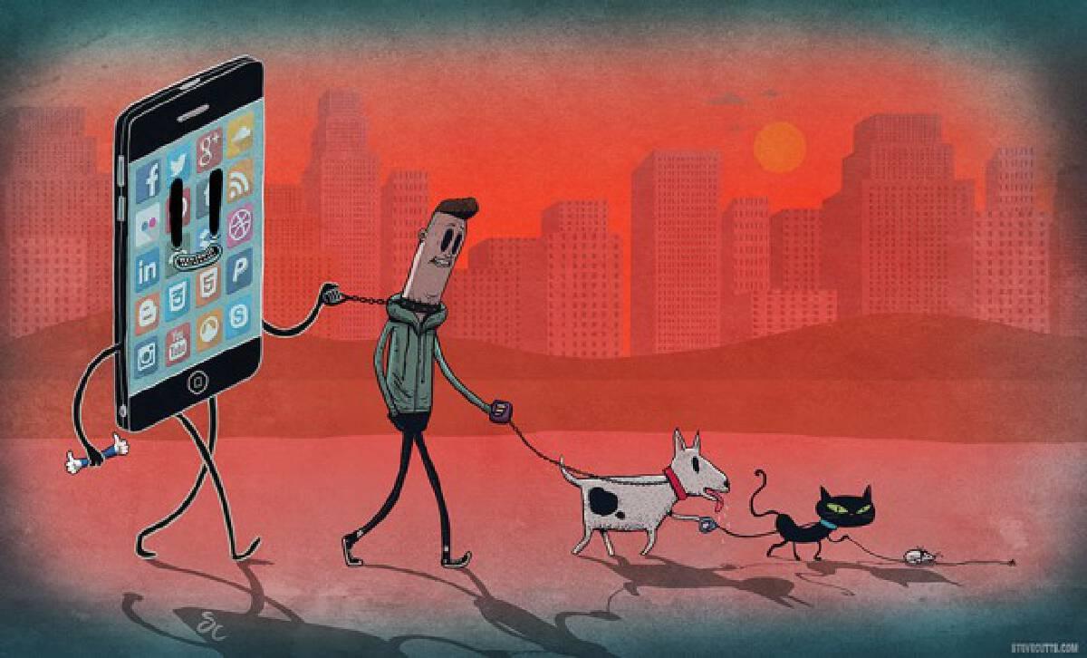 ภาพสะท้อนความจริงกับโลกวันนี้ โดย สตีฟ คัทส์