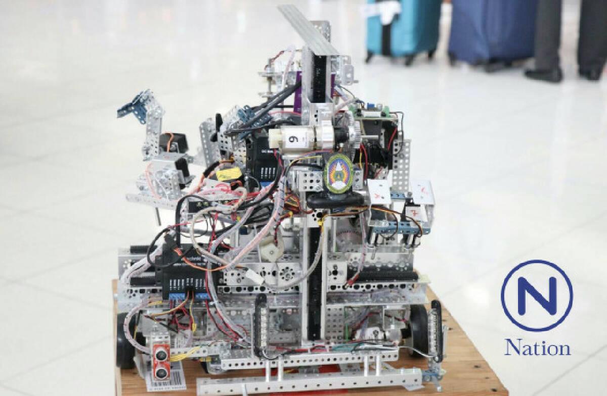 เด็กไทยเจ๋ง! คว้าแชมป์โลก การแข่งขันประดิษฐ์หุ่นยนต์ รุ่นมหาวิทยาลัย