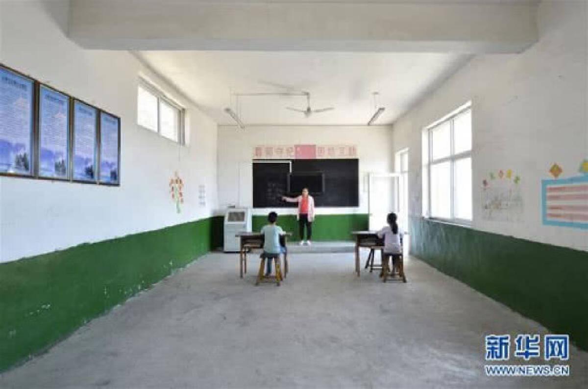 ส่องโรงเรียนจีน ทั้ง รร.มีครูนักเรียนแค่ 3 คน