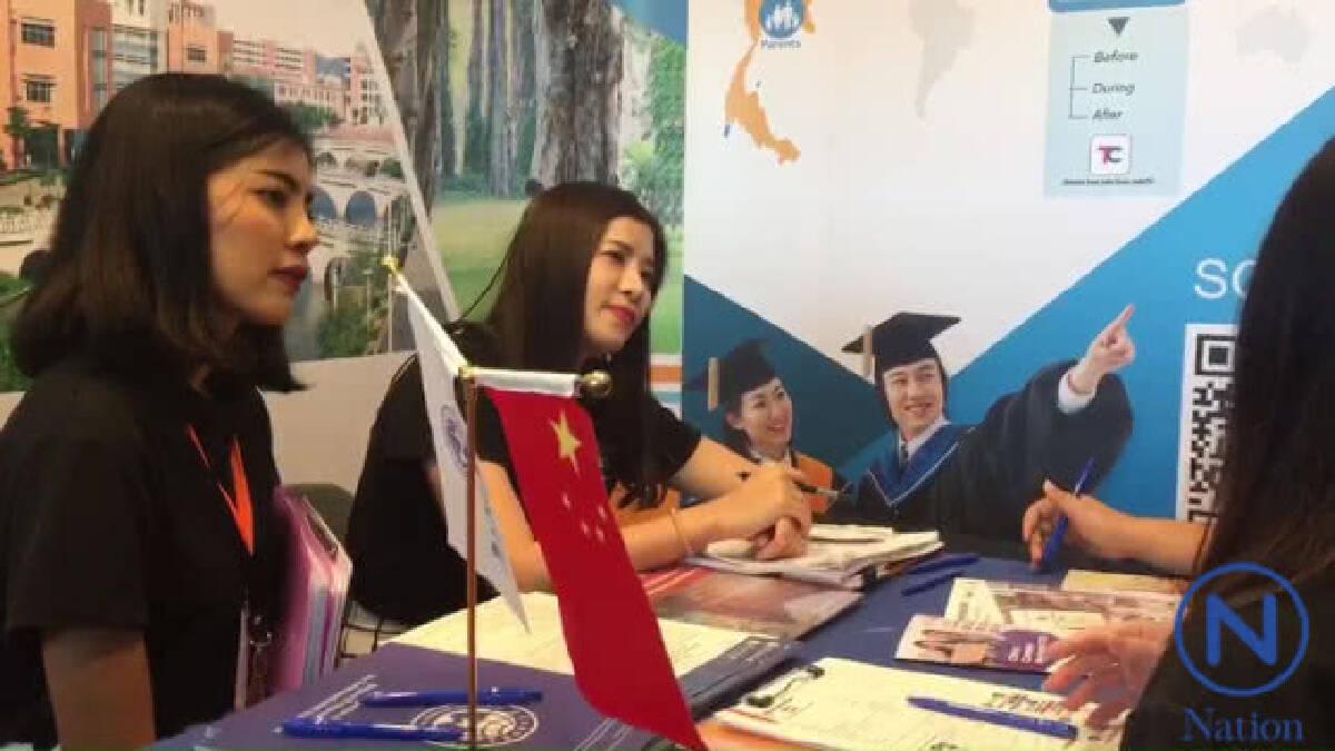 นักเรียนไทยหันมาเรียนภาษาจีนมากขึ้น