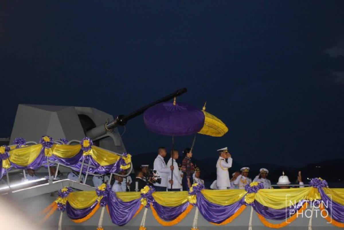 ในหลวง-ราชินี เสด็จไปทรงเจิมเรือหลวงภูมิพลอดุลยเดชเรือฟริเกตลำใหม่