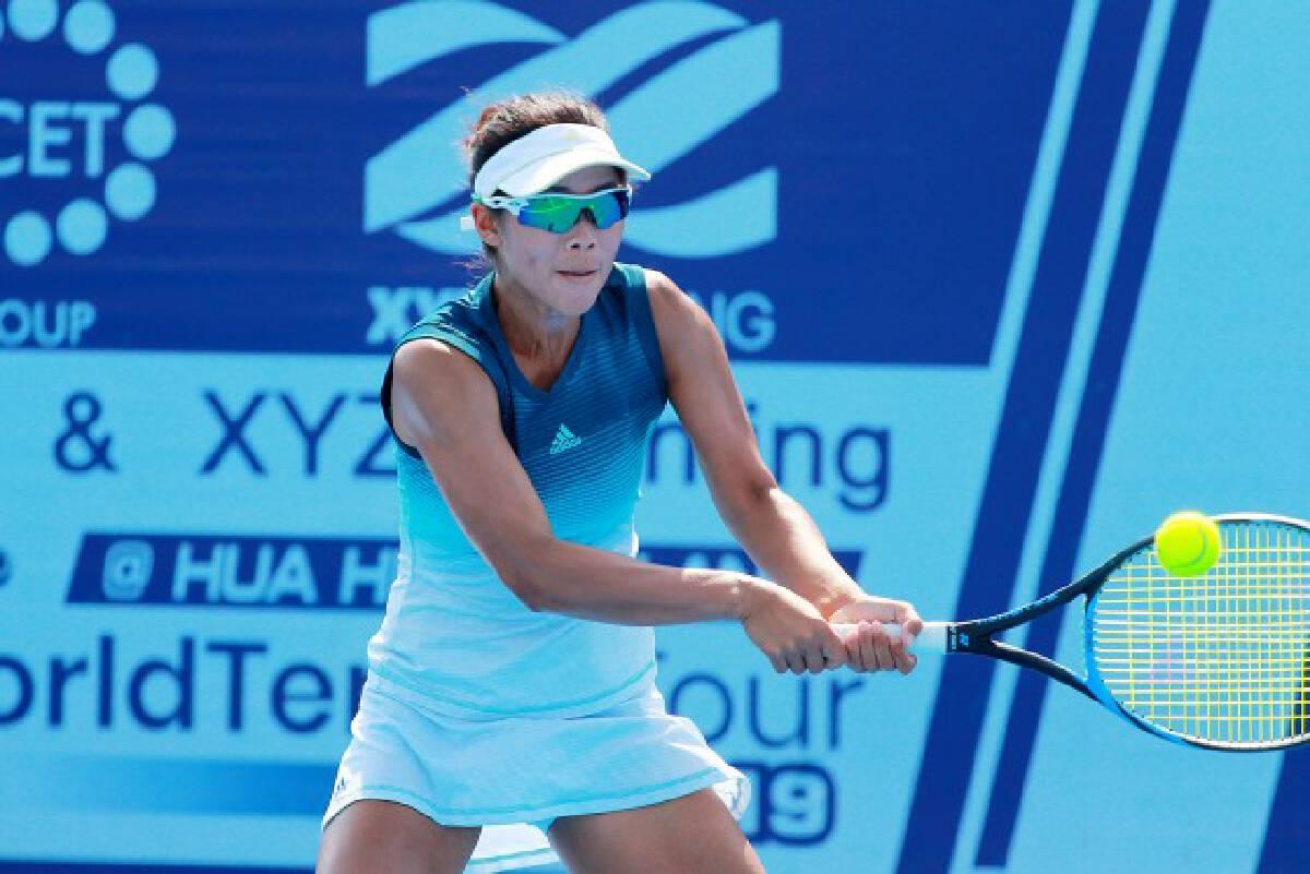 """""""อีฟ """"- พัชรินทร์  ลิ่วเทนนิสอาชีพหญิงสะสมคะแนนอันดับโลก"""