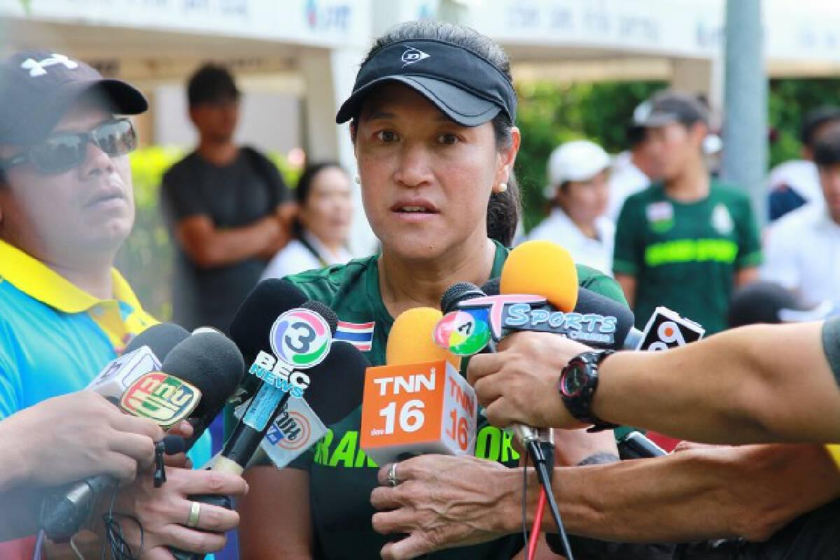 """เทนนิสไทยชู """"แทมมี่"""" นำทัพลุยซีเกมส์ฟิลิปปินส์ - เป้า 3 ทอง"""