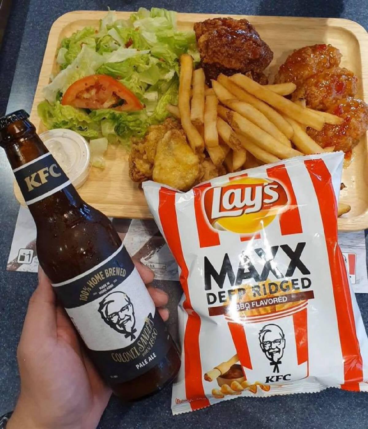 "KFC ปล่อย ""คราฟท์เบียร์"" เพื่อกินกับไก่โดยเฉพาะ"