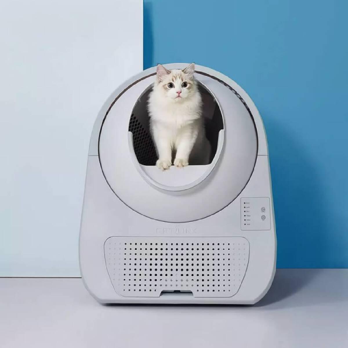 """ทาสแมวกรี๊ด Xiaomi เปิดตัว """"สุขาแมวอัจฉริยะ"""" ราคา 4,390 บาท"""