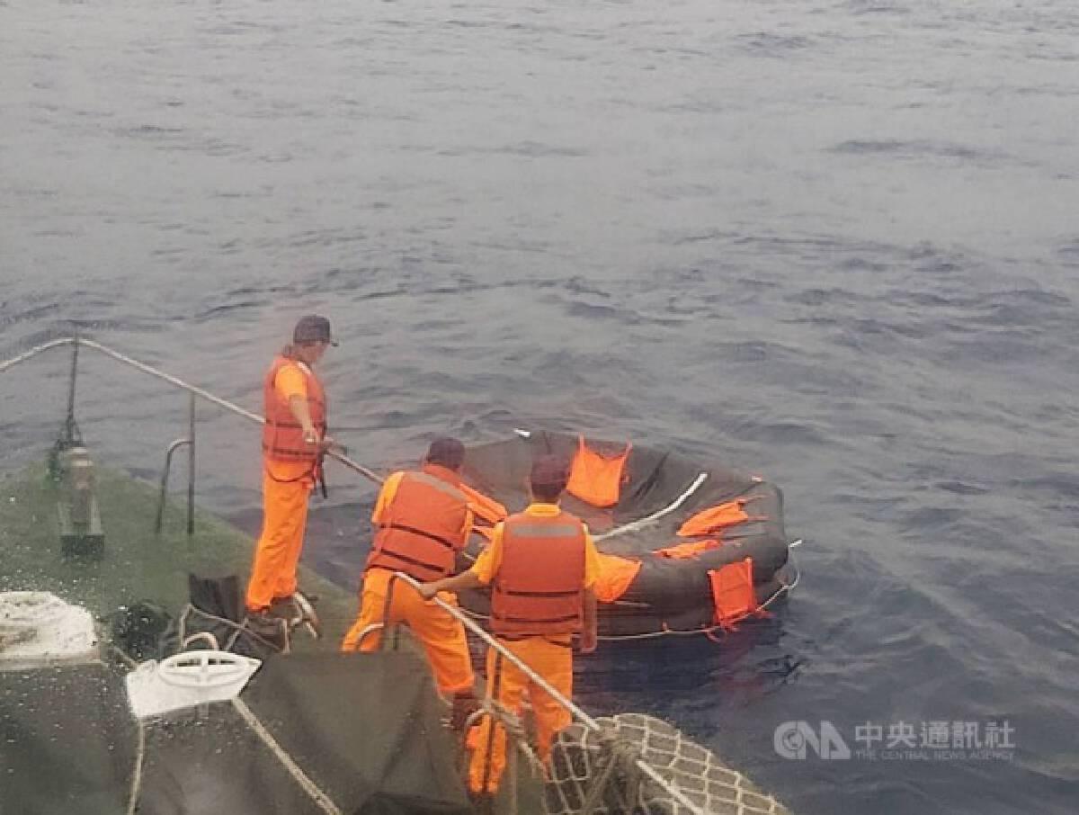 เรือสินค้าล่มที่ไต้หวัน ลูกเรือชาวไทยสูญหาย 5 คน