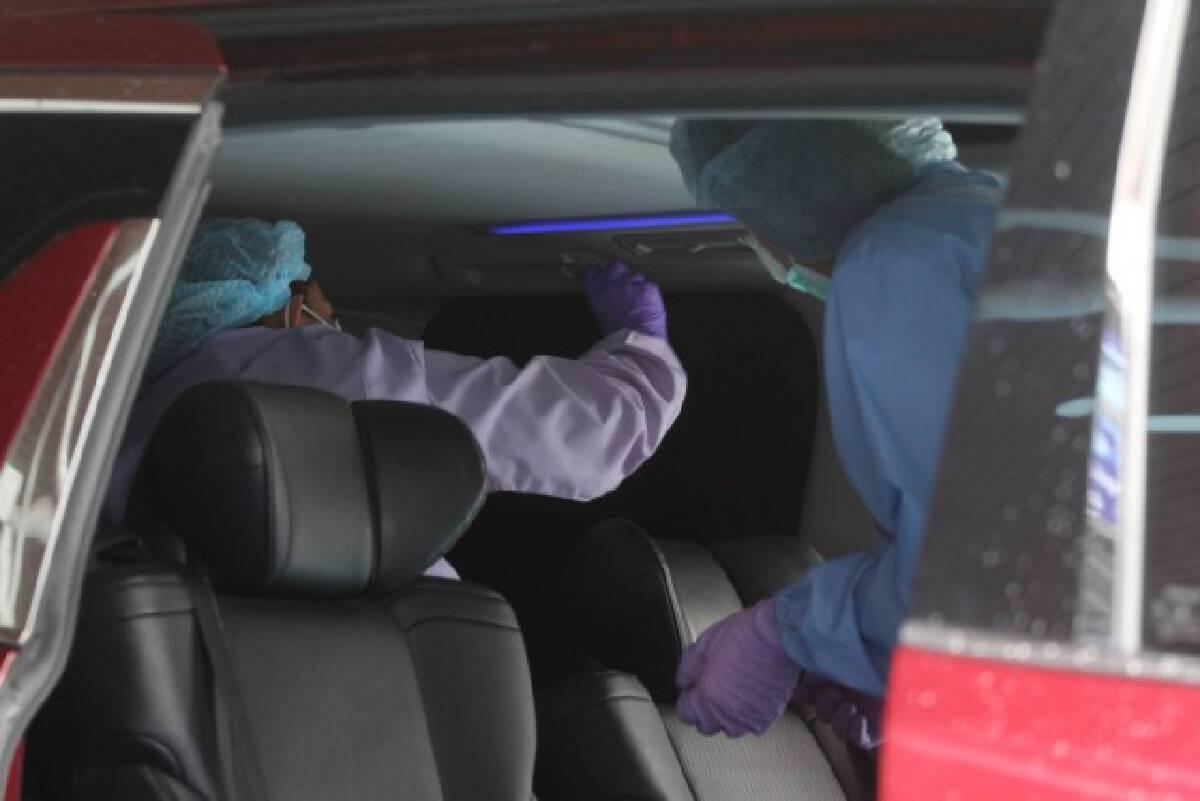"""18 ปลอกกระสุน 9 ม.ม.นำสืบคนร้าย - ลุยค้นรถตู้ """"เสี่ยโป้"""""""
