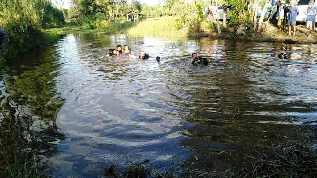 พ่อ-ลูกจมน้ำดับ3 คาดลูกชายไปตกปลา พลาดตกน้ำ