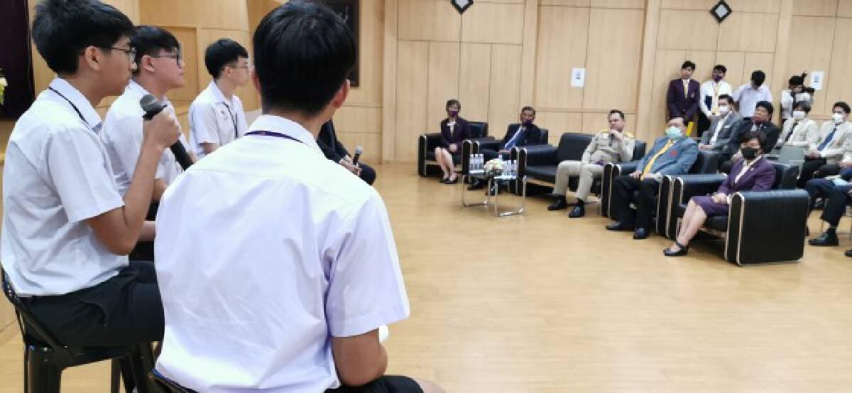 ดาวเทียมไทยดวงแรกในอาเซียน-ฝีมือนักเรียน