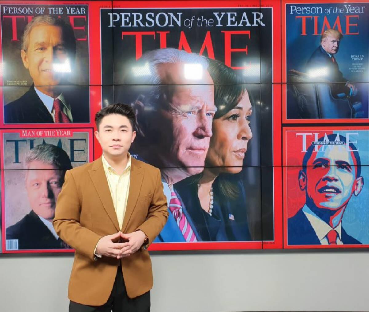 """ย้อนรอย """"ว่าที่ผู้นำสหรัฐฯ"""" กับการขึ้นปกไทม์ """"บุคคลแห่งปี"""""""