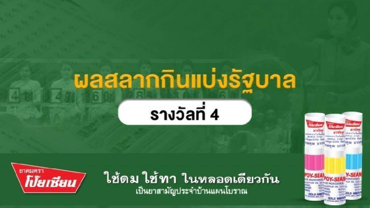 ผลสลากกินแบ่งรัฐบาลงวดประจำวันที่ 17 มกราคม 2564