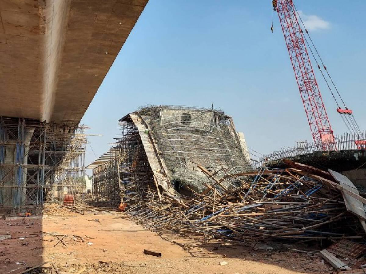 อธิบดีกรมทางหลวง สั่งสอบสาเหตุสะพานพังถล่ม