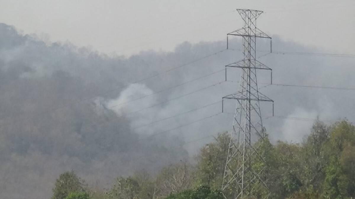 เกิดไฟป่าต่อเนื่อง-ค่าฝุ่นจิ๋วพุ่ง