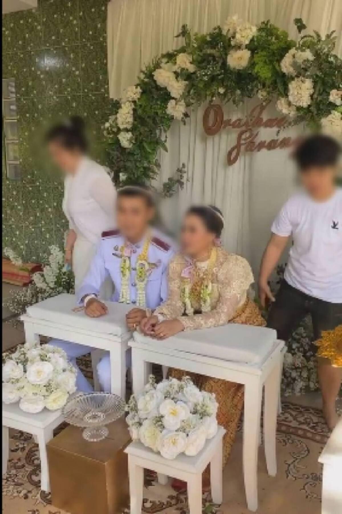 """ส่องโพสต์ล่าสุด """"ภรรยาหลวงบุกโชว์ทะเบียนกลางงานแต่งสามี"""" ตอนนี้ """"ถูกข่มขู่จากผู้ไม่หวังดี"""""""
