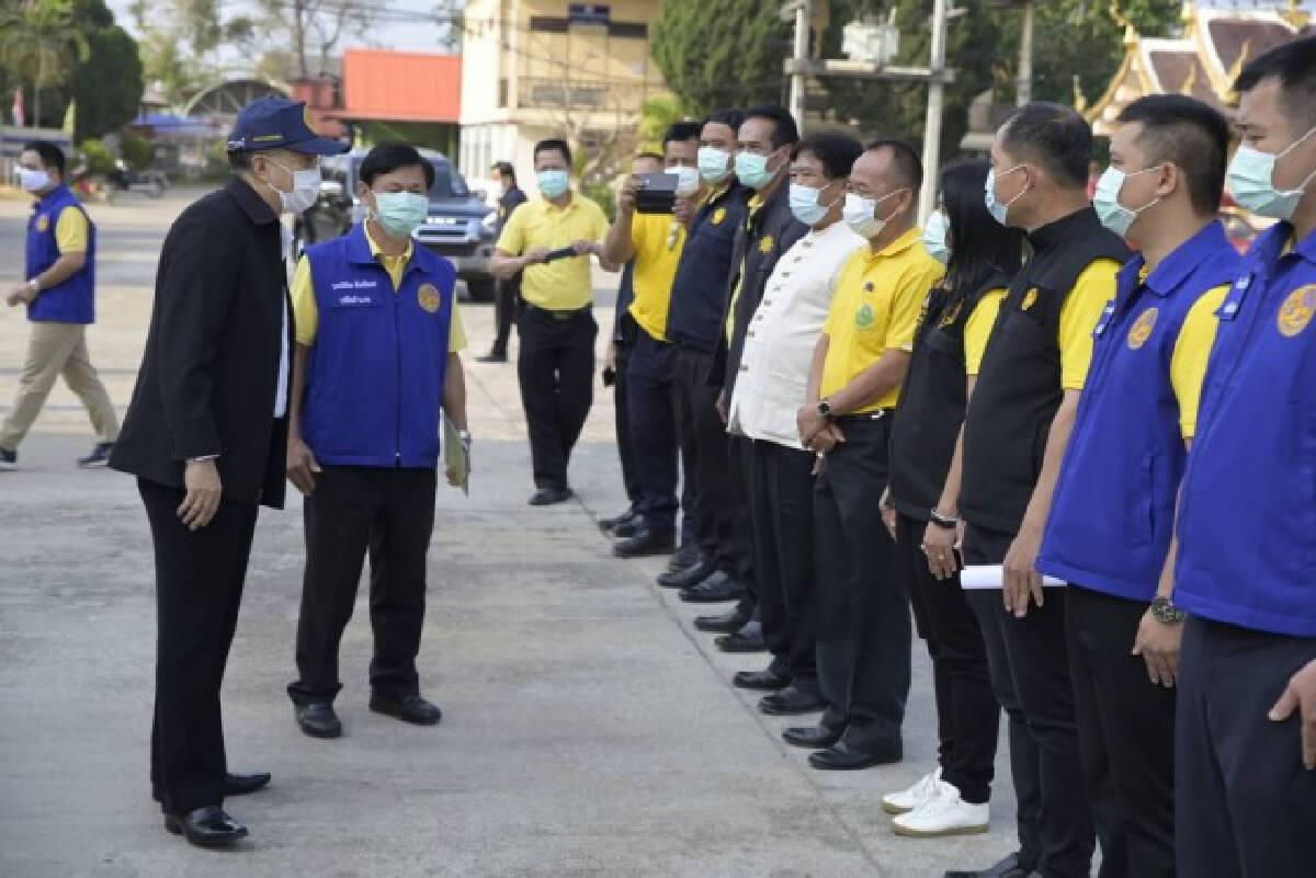 ปค.ชู10โครงการขับเคลื่อน64 -ยกอำเภอสร้างสุขบำบัดทุกข์ปชช.