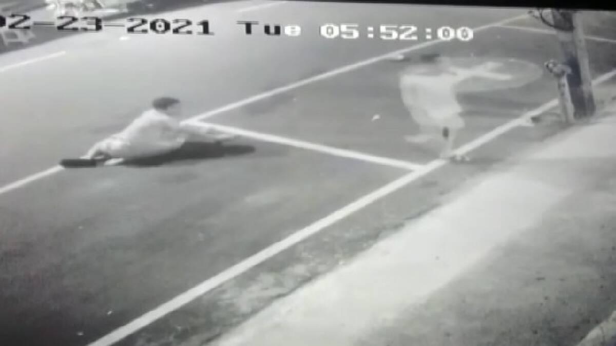 ตำรวจเมาชักปืนยิงขู่ฝรั่งหน้าผับ พ่อค้าถูกลูกหลงสาหัส