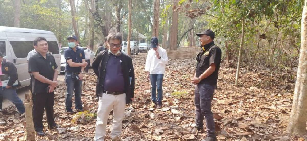 ป.ป.ช.แม่ฮ่องสอนลุยตรวจสอบ-งบทำแนวป้องกันไฟป่า