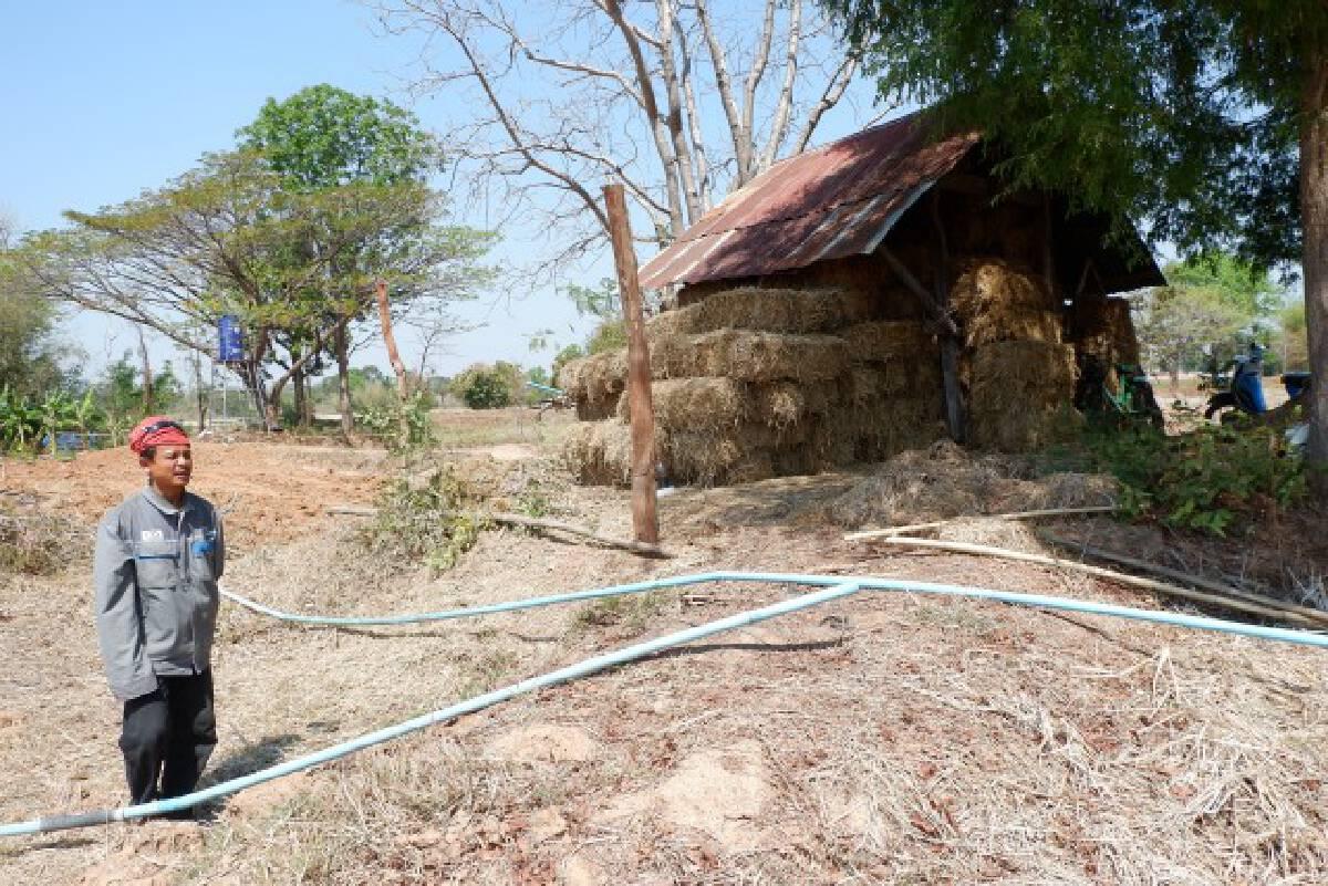 เกษตรกรเจาะน้ำบาดาลไว้ใช้ หวั่นภัยแล้งขยายวงกว้าง