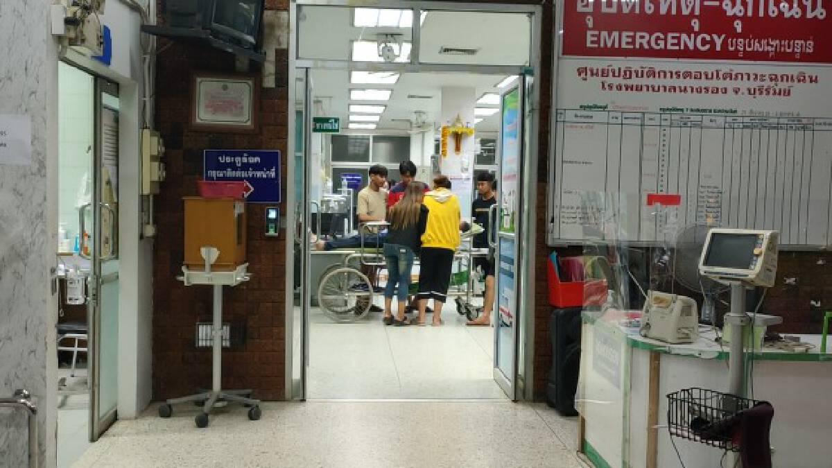 คนร้ายดักซุ่มปาดคอชายวัย 54 หน้าร้านอาหารหวังชิงทรัพย์