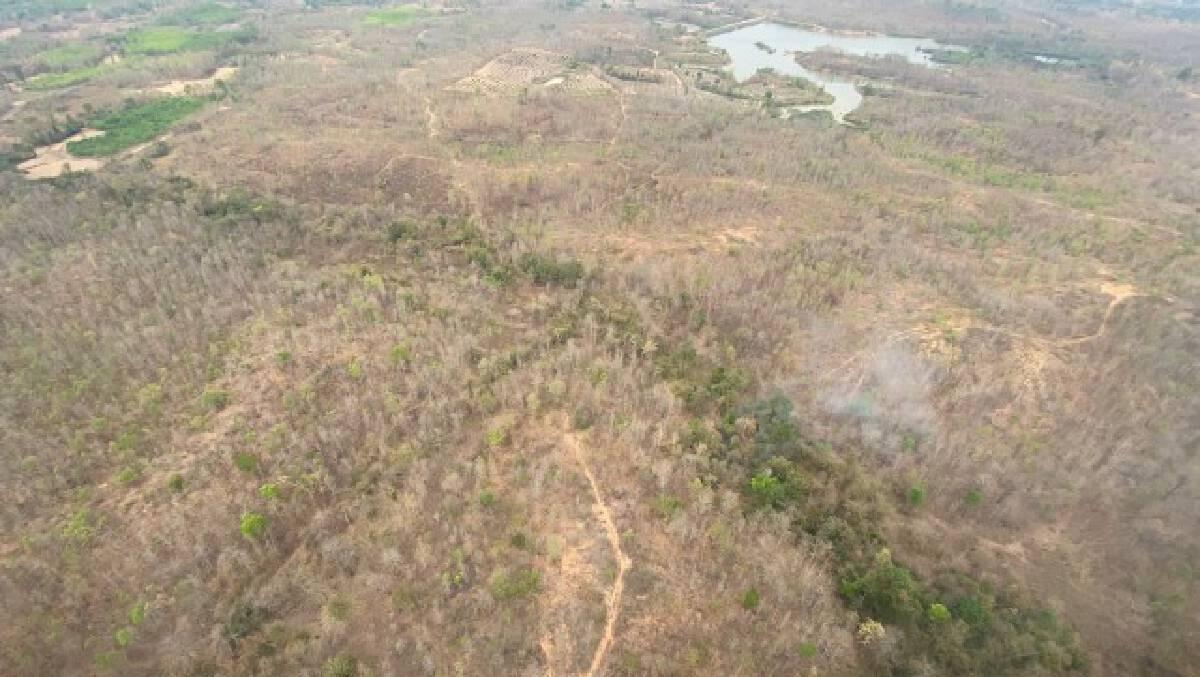 """""""ดีเอสไอ""""ตรวจนายทุนออกโฉนดรุกป่าต้นน้ำ1,400ไร่"""