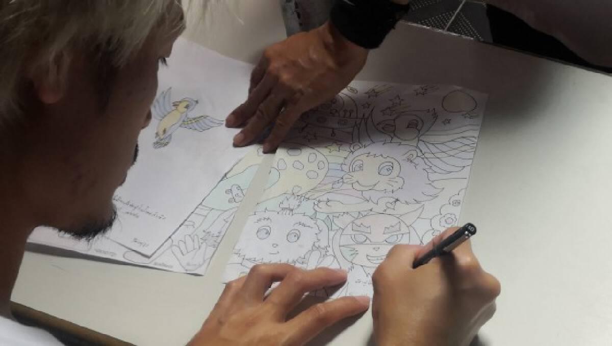 ศิลปินฮีโร่เพ้นท์ตึกเพื่อน้องป่วยมะเร็งระยะสุดท้าย