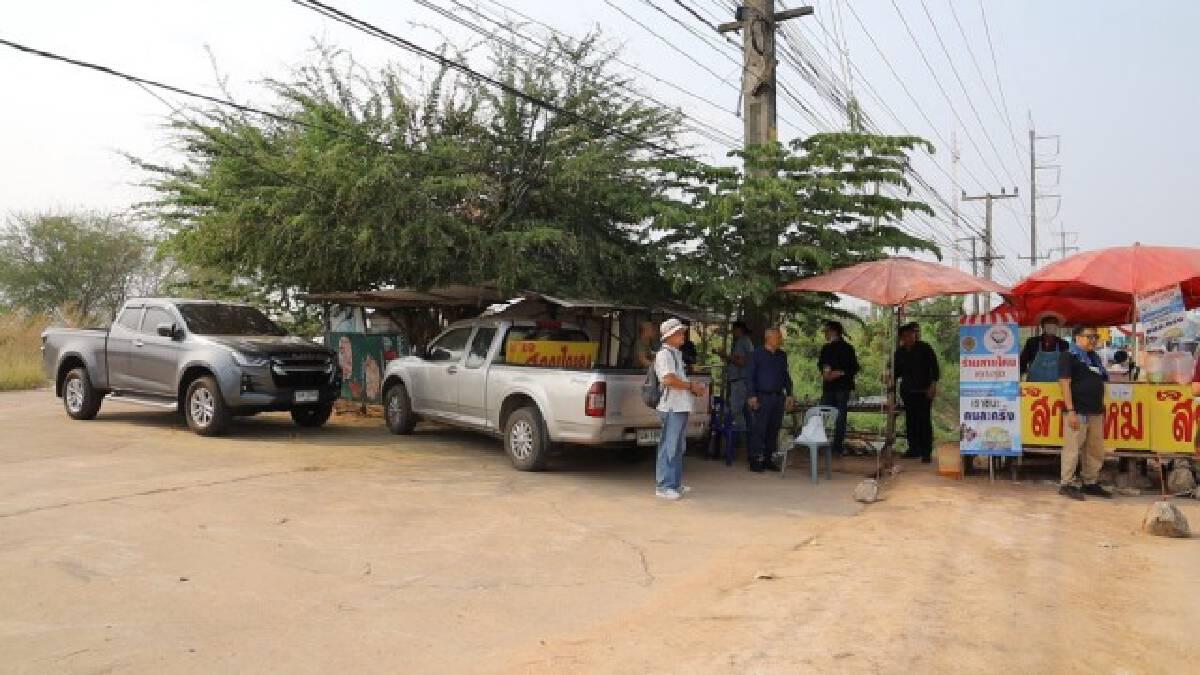 ถูกโจรจี้ชิงปิกอัพตำรวจตามพบจอดทิ้งริมถนน