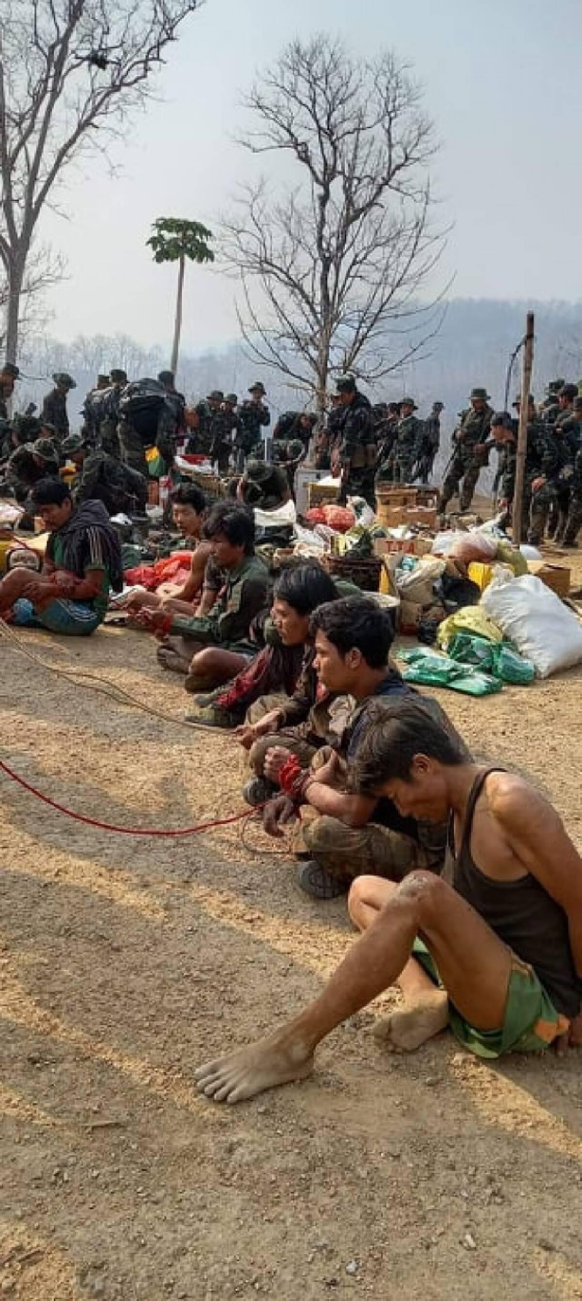 กะเหรี่ยงเคเอ็นยู.มอบของขวัญวันกองทัพเมียนมา ถล่มฐานที่มั่นแตก เสียชีวิต 6 คน จับเป็น กว่า 20 คน