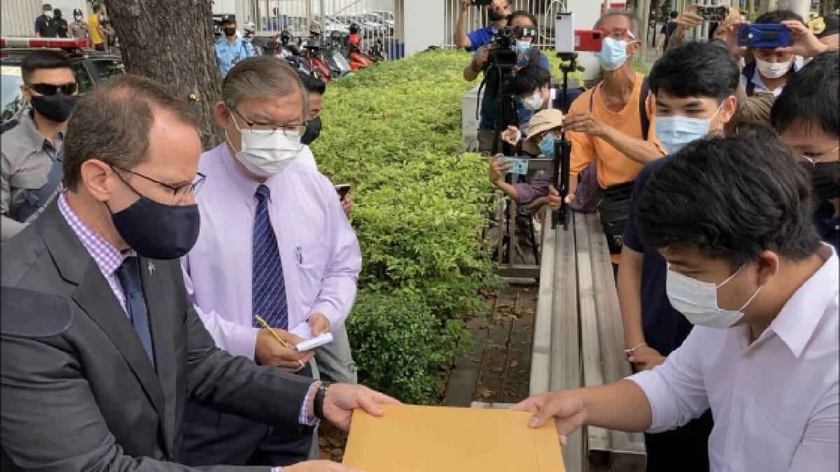 กลุ่มพรรควิฬาร์ ยื่นจดหมายสถานทูตสหรัฐฯจัดการเผด็จการไทย