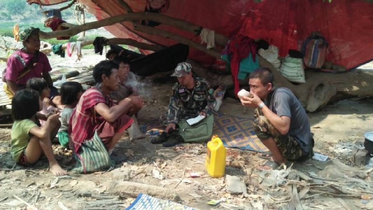 ผู้ลี้ภัยสงครามทะลักเข้าไทยกว่า 2,000 คน