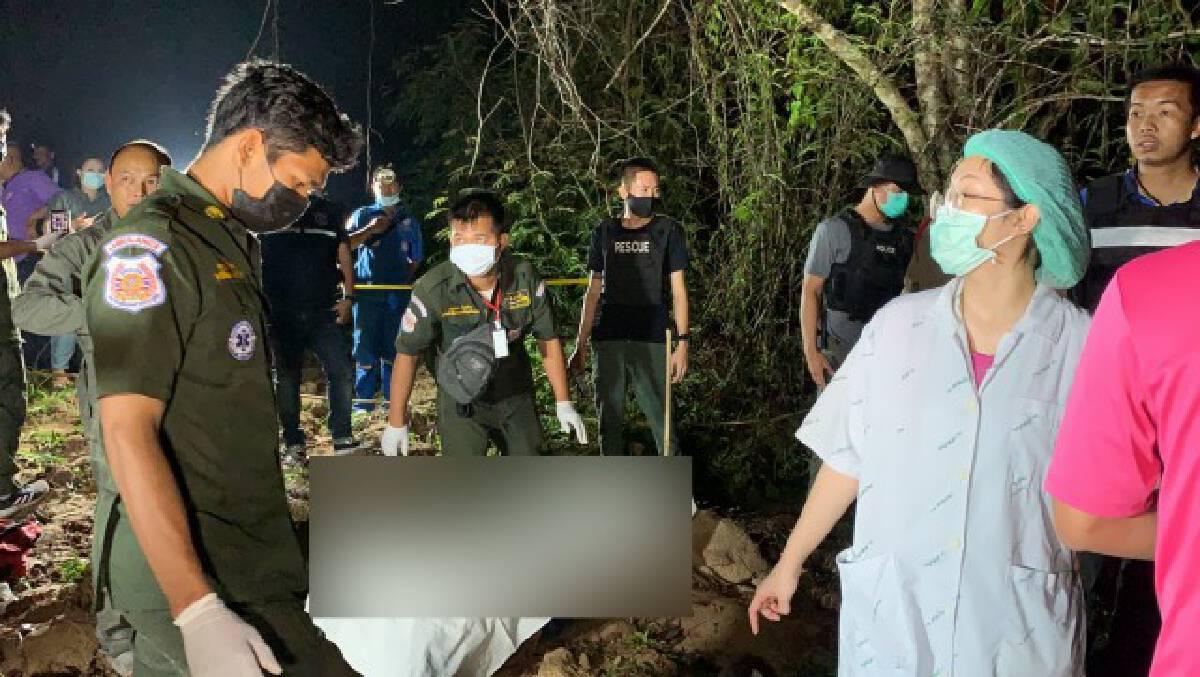 รวบแล้วหนุ่มลาวฆ่าโหด3ศพในสวนยาง