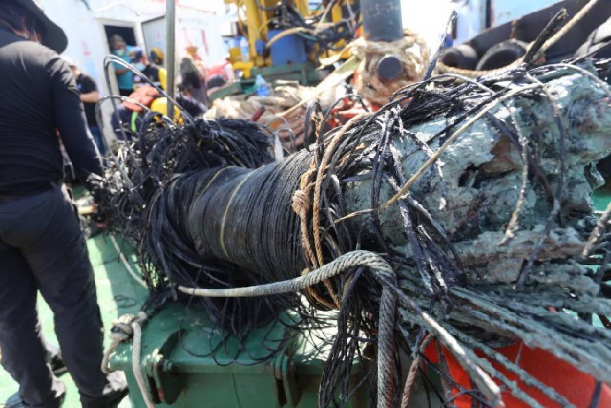 ตรวจสอบสภาพการชำรุดของสายเคเบิลใต้น้ำระบบ 115 kV วงจรขนอม-เกาะสมุย 2