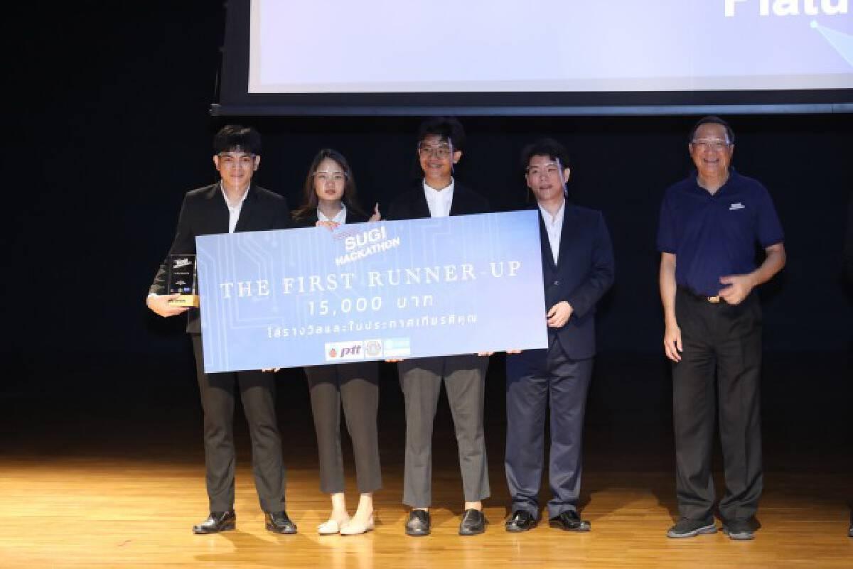 ผลการประกวด Sugi Business Case Challenge 2021 รอบชิงชนะเลิศ