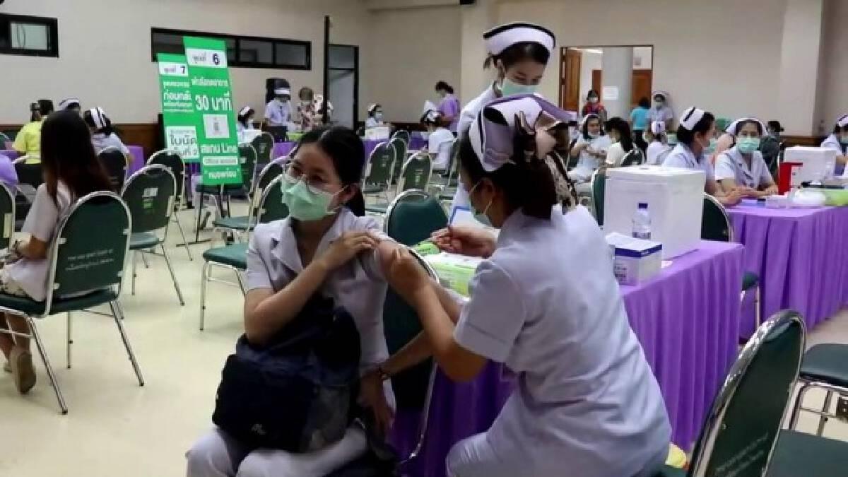 เร่งฉีดวัคซีน-ไร้อาการไม่พึงประสงค์ชนิดรุนแรง