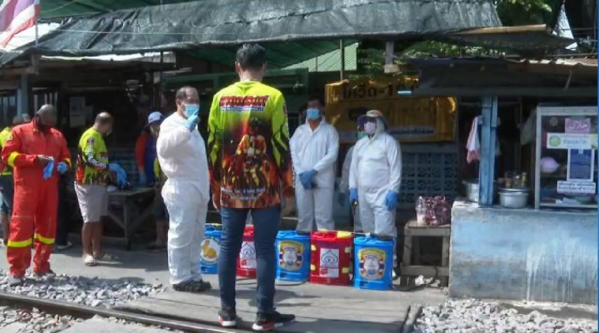 ชุมชนคลองเตยรวมพลังดูแลกันเอง ป้องกันโควิดแพร่ระบาด