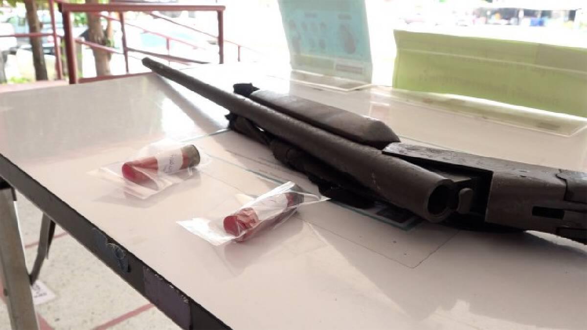คู่เขยทะเลาะกัน ใช้ลูกซองยาวยิงอีกฝ่ายเสียชีวิต