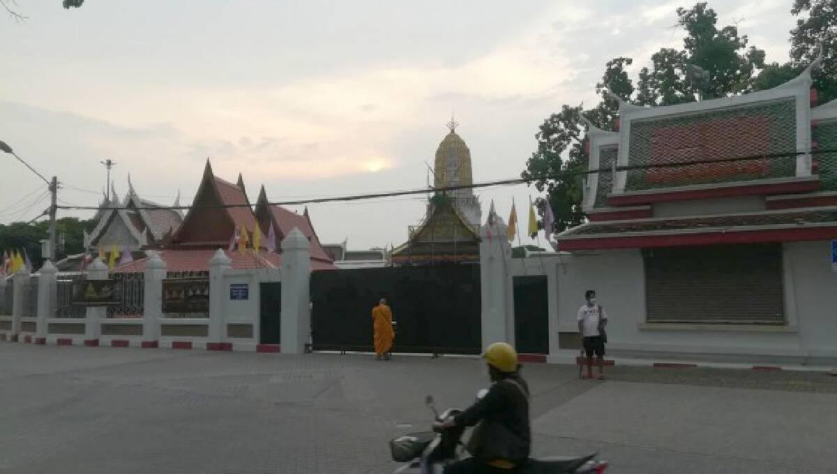 ปิดวิหารหลวงพ่อพระพุทธชินราช 20 วัน