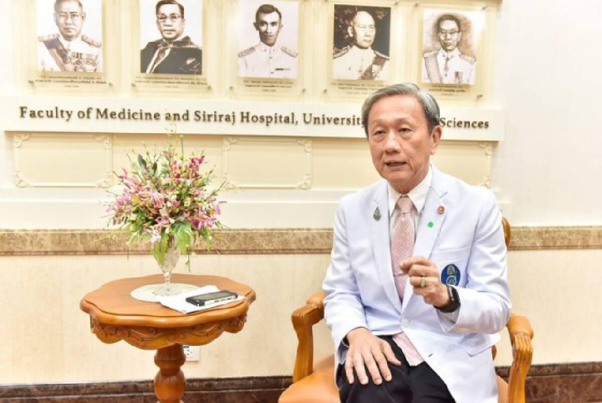 หมอประสิทธิ์เผย 1ใน4 ผู้ป่วยโควิด มีอาการปอดอักเสบ