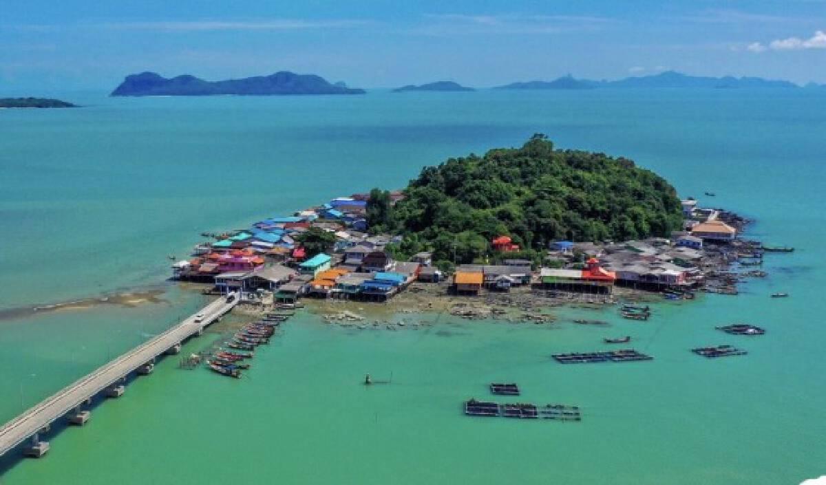 ปิดเกาะแรต สุราษฎร์ฯ ห้ามคนนอกเข้าพื้นที่ 100%