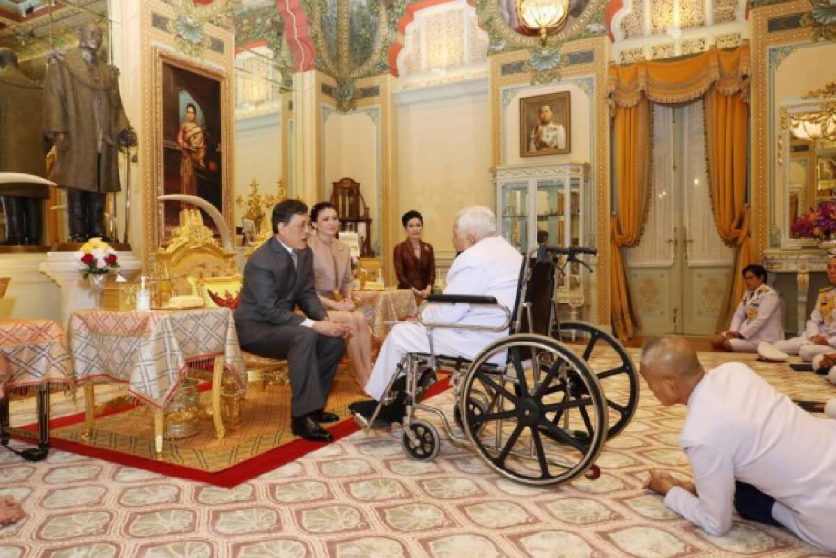 'ในหลวง' พระราชทานพระบรมราชวโรกาสให้ องคมนตรี ถวายสัตย์ปฏิญาณก่อนเข้ารับหน้าที่