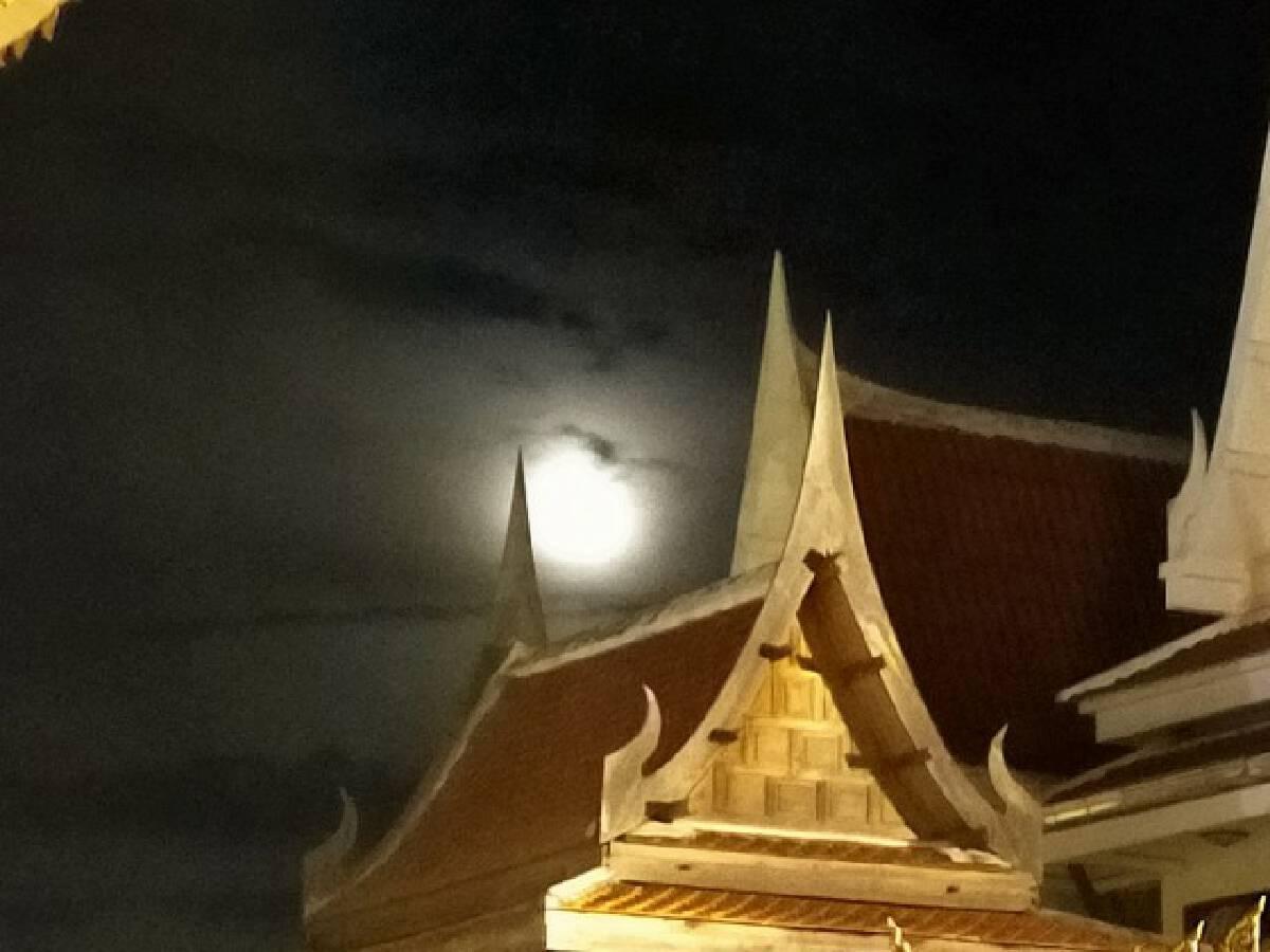 สกลนครเมฆมาก-ฝนตก อดเห็นราหูอมจันทร์