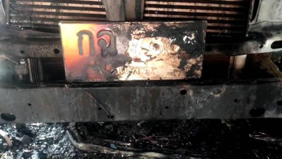 ไฟไหม้บ้านผู้สื่อข่าวไทยรัฐวอดเช้ามืด