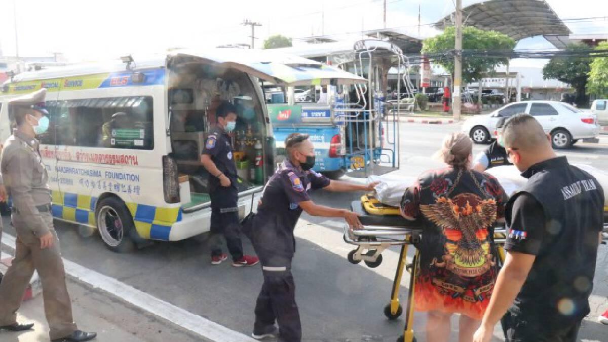 ตำรวจจราจรเครียดยิงตัวตายคาป้อมกลางเมือง