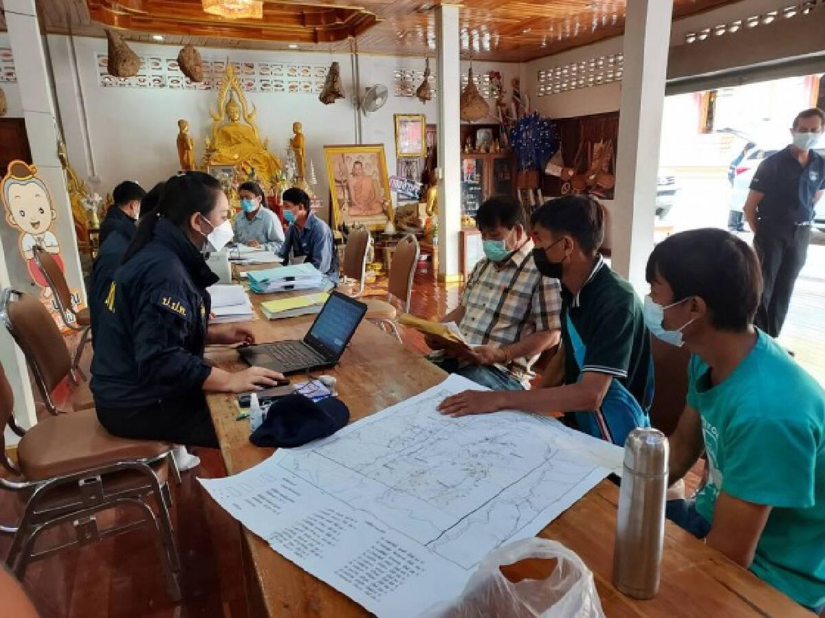ป.ป.ท.ลงพื้นที่วังเหนือตรวจสอบโครงการฟื้นฟูป่าต้นน้ำฯ