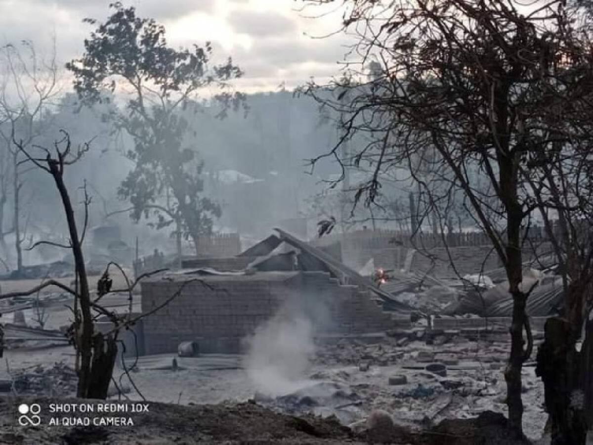 ประณามกองทัพเมียนมา หลังเผาวอดทั้งหมู่บ้านเหตุต่อต้านรัฐบาล
