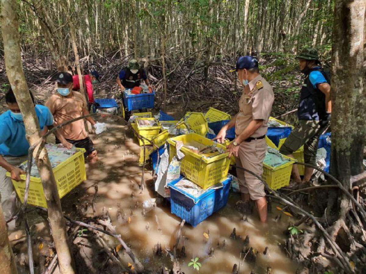 ยึดไอซ์-เฮโรฮีนมูลค่าพันล้านบาทซุกป่าชายเลนไทย-มาเลเซีย