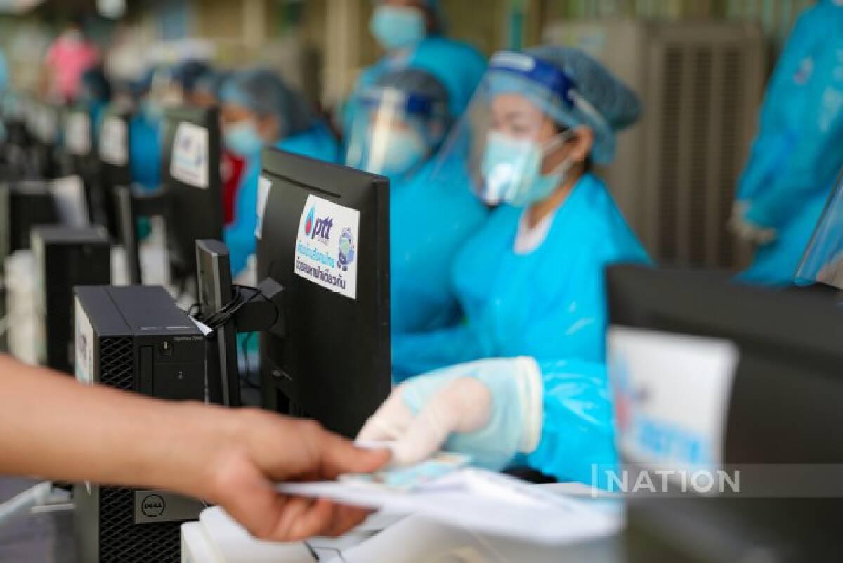 กทม. จับมือ ปตท. จัดหน่วยฉีดวัคซีนเคลื่อนที่ รุกพื้นที่คลัสเตอร์ใหญ่