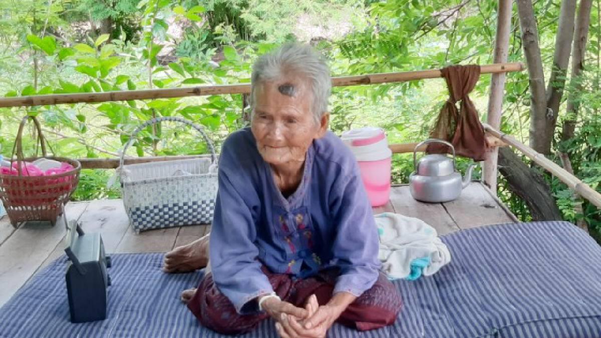 วอนตามล่าโจรขึ้นบ้านยายวัย91ปี ขโมยเงินเกือบ4หมื่นบาท